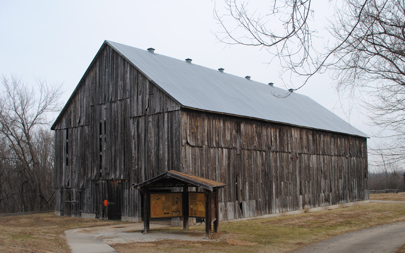 Weston Tobacco Barn 1