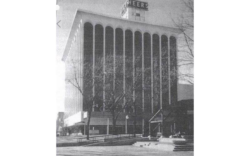 1960s facade
