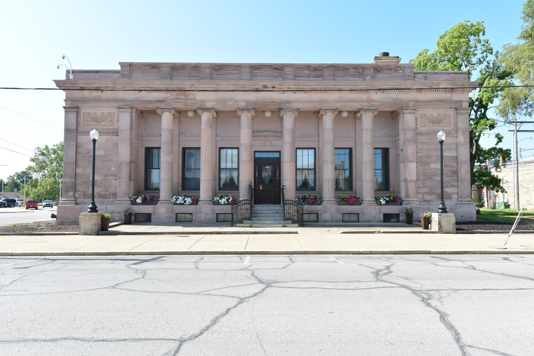 Exterior of the Ottawa Post Office