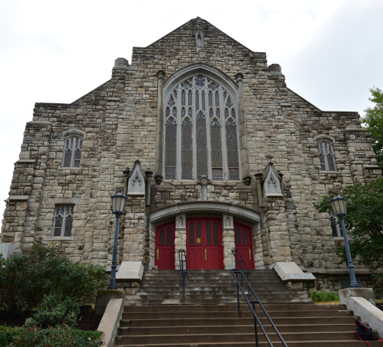 Exterior of Broadway Church