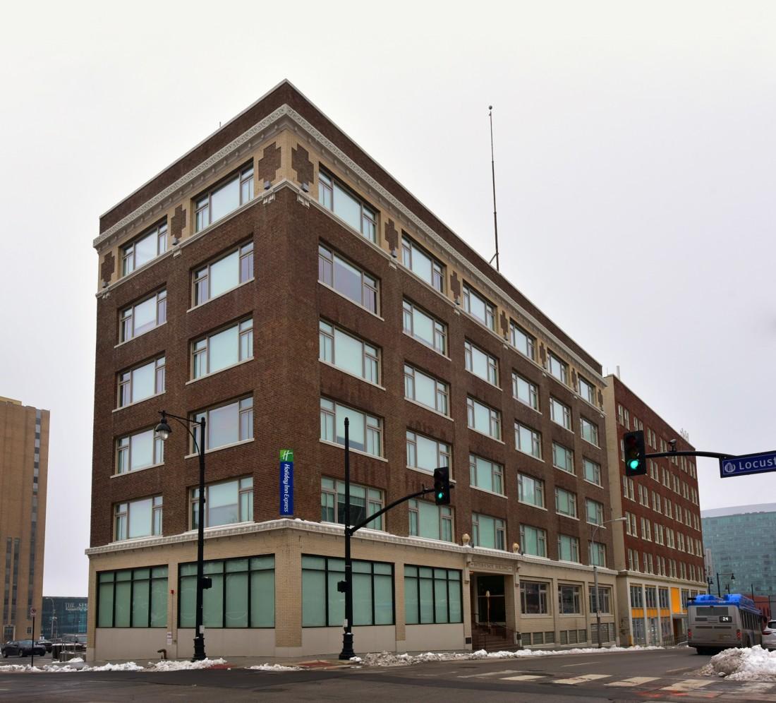 Exterior Interstate Building