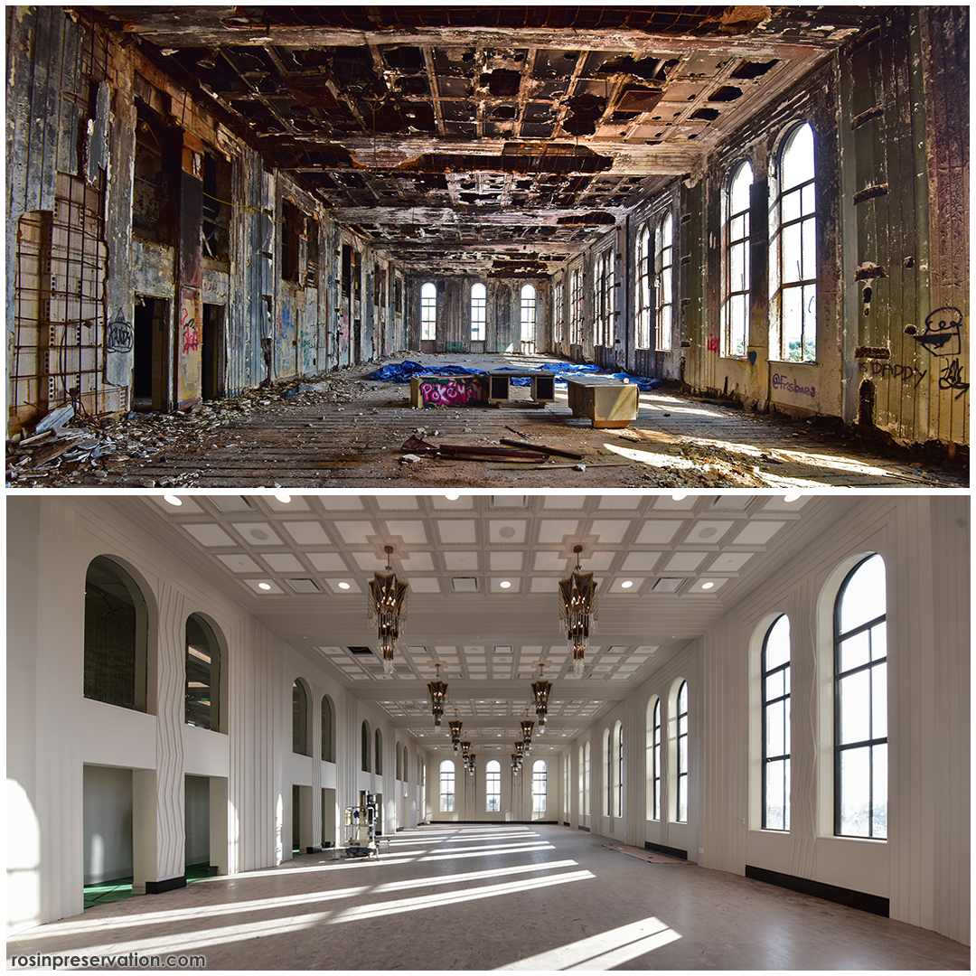 Before and After photo of Tulsa Club